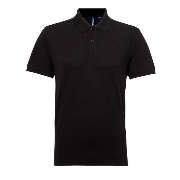 Asquith & Fox Blend Polo Adult (Black)