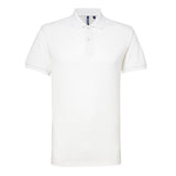 Asquith & Fox Blend Polo Adult (White)