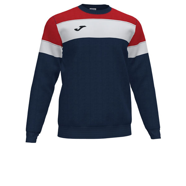 Joma Crew IV Sweatshirt (Navy/Red/White)