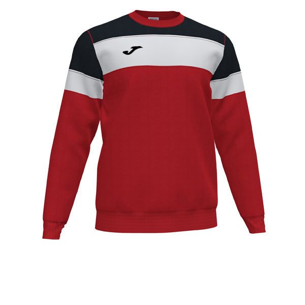 Joma Crew IV Sweatshirt (Red/Black/White)