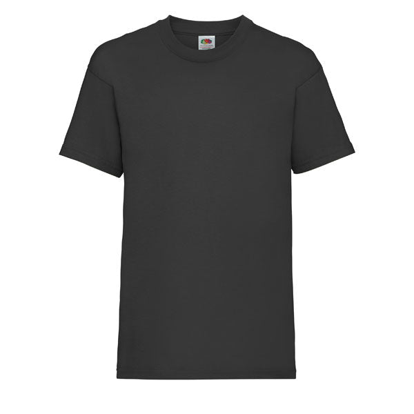 Fruit of the Loom T-shirt Junior (Black)