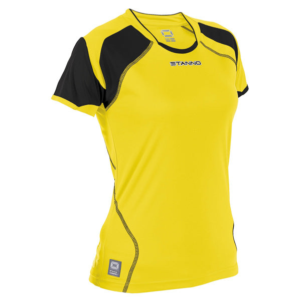 Stanno Bari Shirt Ladies (Yellow/Black)