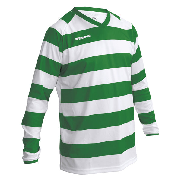 Stanno Lisbon Shirt Junior (Green/White)