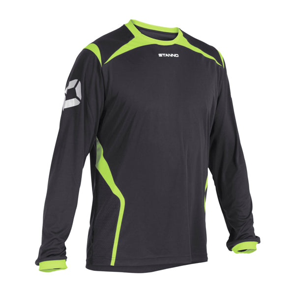 Stanno Torino Shirt Snr (Anthracite/Neon Yellow)