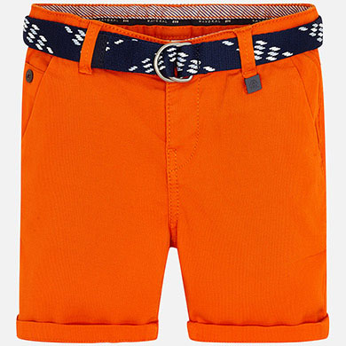 Mayoral Pique Shorts with Belt 3262