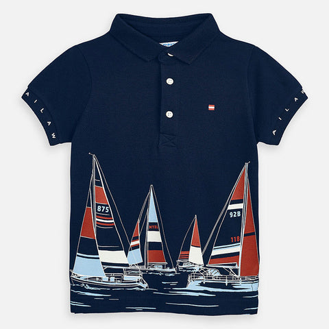 Mayoral Polo with Yacht Design 3149