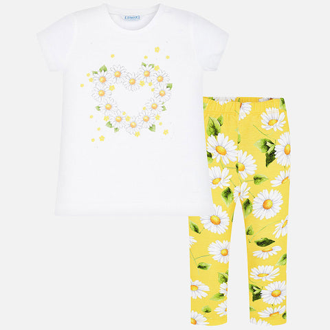 Mayoral Daisy Legging Set