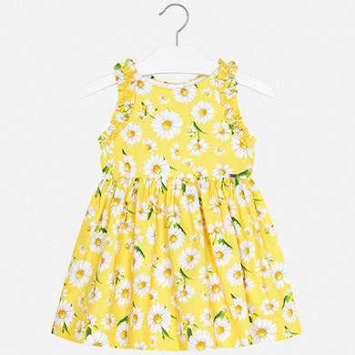 Mayoral Poplin Daisy Dress 3951