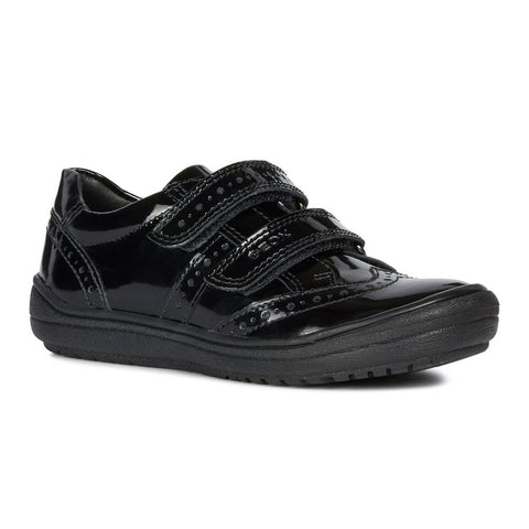 Geox Hadriel Double Velcro School Shoe