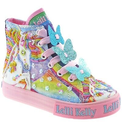Lelli Kelly Unicorn Mid Hi Top LK9090