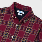 Mayoral Checked Shirt 4147