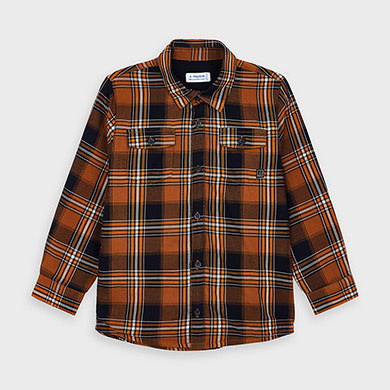 Mayoral Plaid Twill Shirt 4138