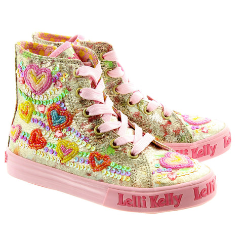 Lelly Kelly Mila Hi Top LK5088
