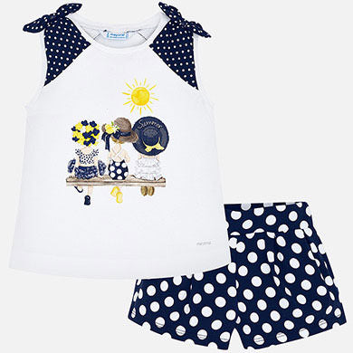 Mayoral Summer Moods Short & Tee Set 3288