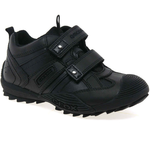 GEOX SAVAGE SCHOOL SHOE J0624A