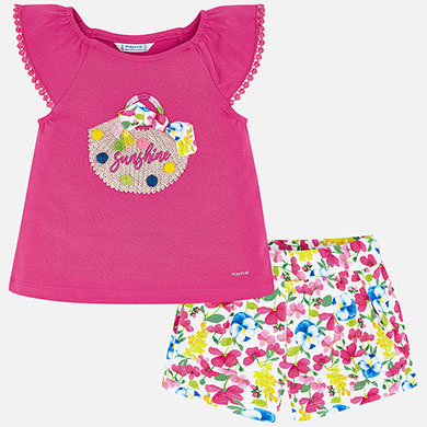 Mayoral Sunshine Tee and Shorts Set 3293