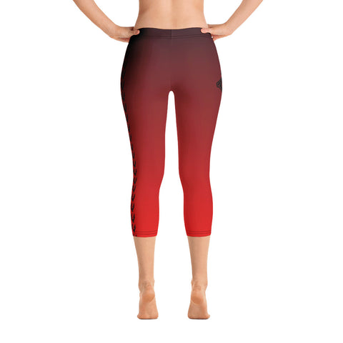 "Legging court ""Basic"" rouge"