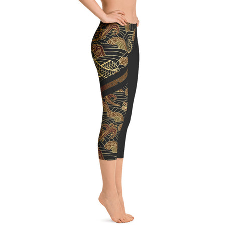 "Leggings Court ""Shenron"""