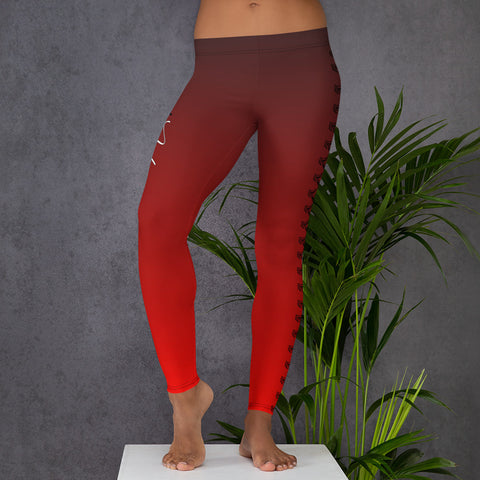 "Legging ""Basic"" Rouge"
