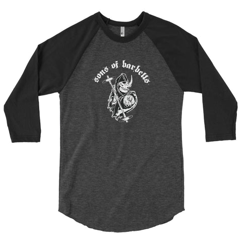 "T-shirt manches 3/4 ""Sons Of Barbells"""