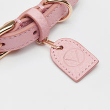 Leather Collar (Pink)