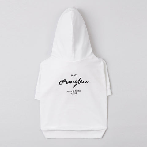 Don't F* Me Up Sweatshirt (White)