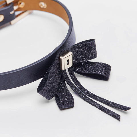 Bowknot Collar(Black)