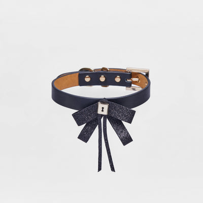 Bowknot Collar(Black) - OVERGLAM LONDON