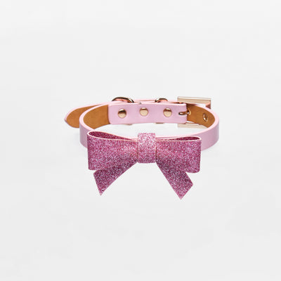 Bowknot Collar (Pink) - OVERGLAM LONDON