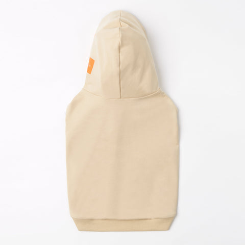 Hoodie with Logo on Hood (Apricot)