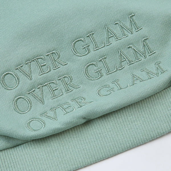 Hoodie with Overglam Embroidered