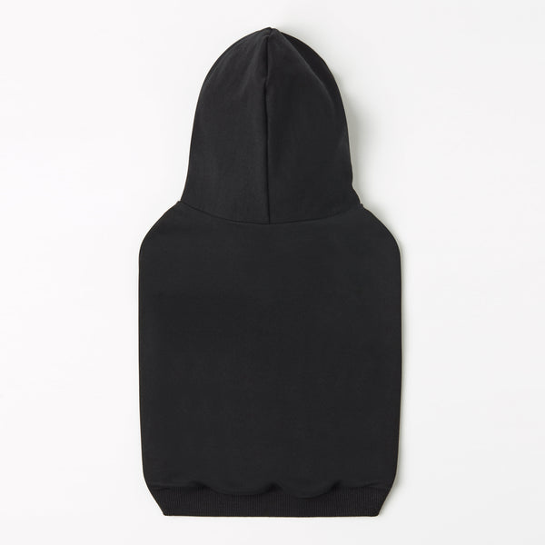 Hoodie with Overglam Print on Hood (Black)