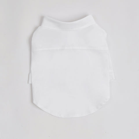 Pleated Shirt (White)