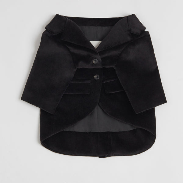 Velvet Suit Jacket (black)