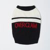 Overglam Logo Stripe Jumper (Black)
