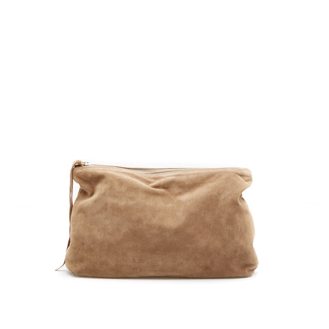 L'Autre Chose Suede Clutch Bag