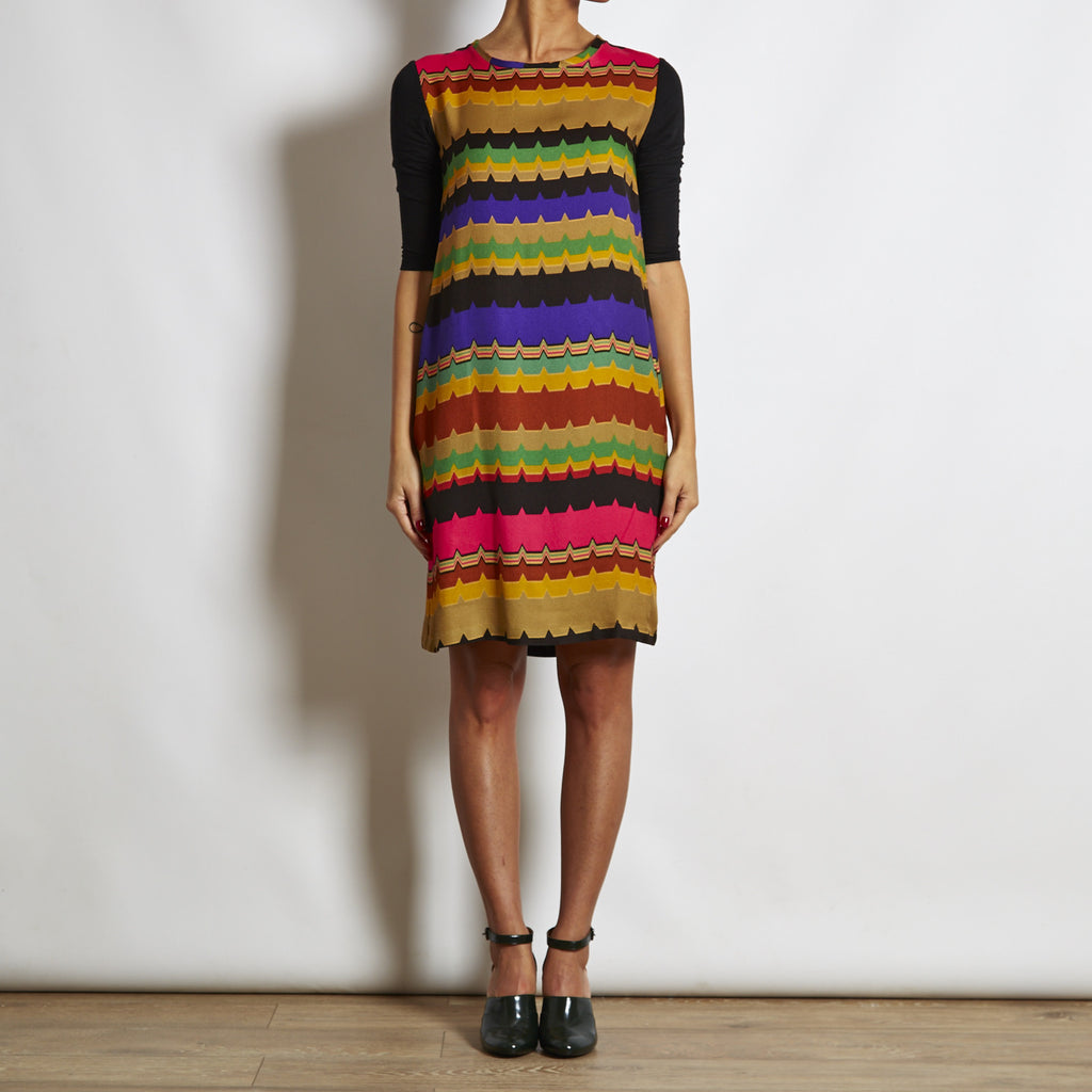Maliparmi Multicolor Viscose Dress