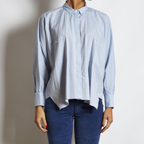Hoss Intropia Oversized Cotton Shirt