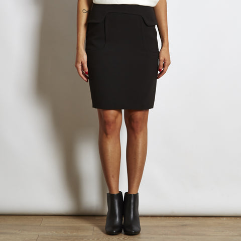 Hoss Intropia Crepe Pencil Midi Skirt