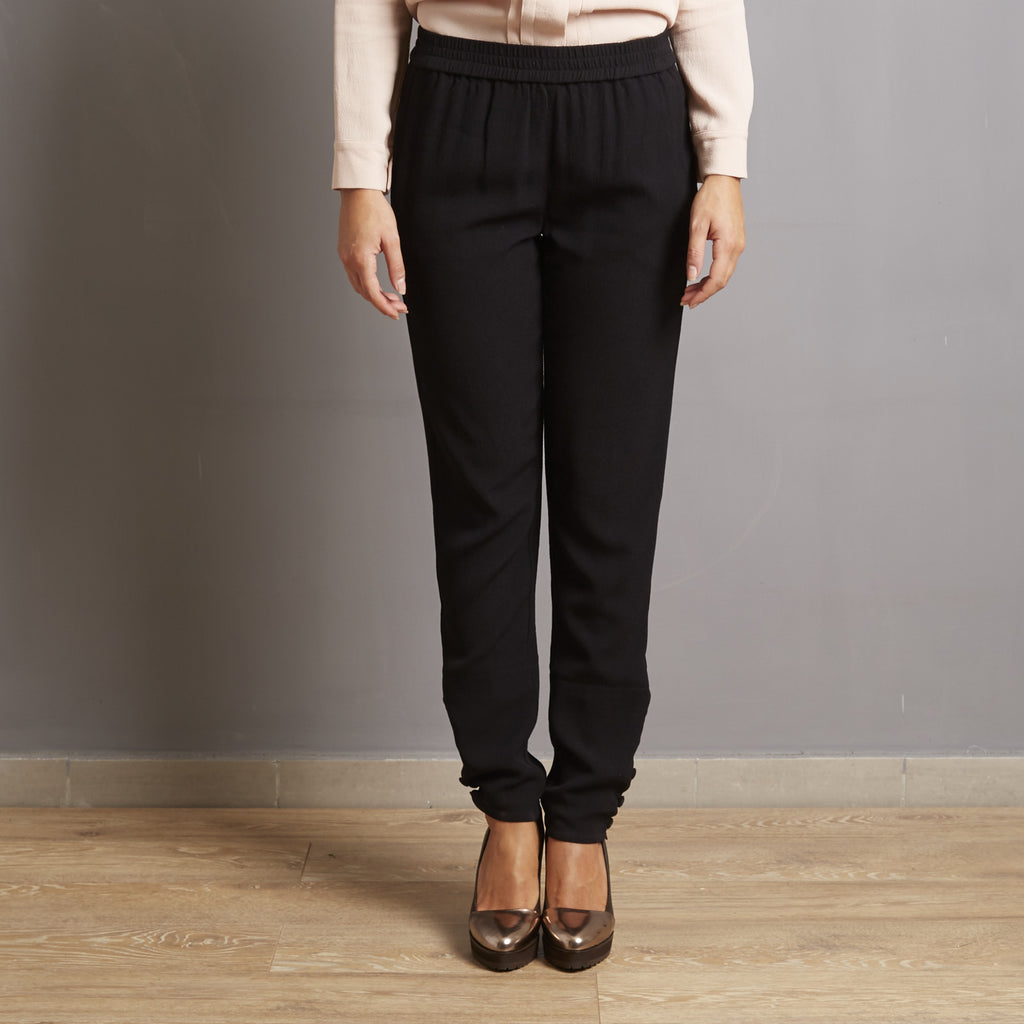 See by Chloè Button Detail Trousers