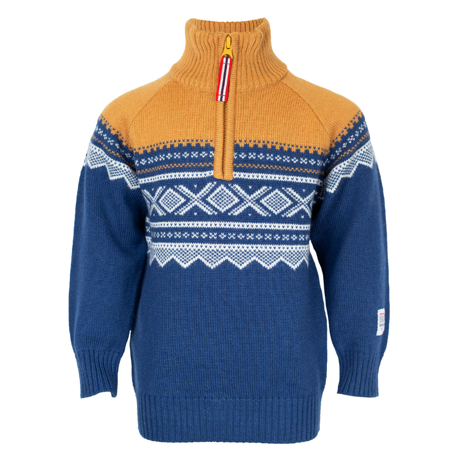 Wool Sweater with Zip Stellar - Marius®