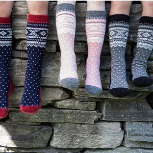 Wool Socks Kids Grey -Marius®