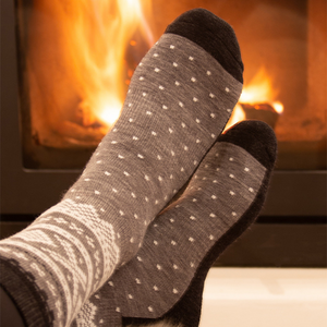 Wool Socks Adult Grey - Marius®