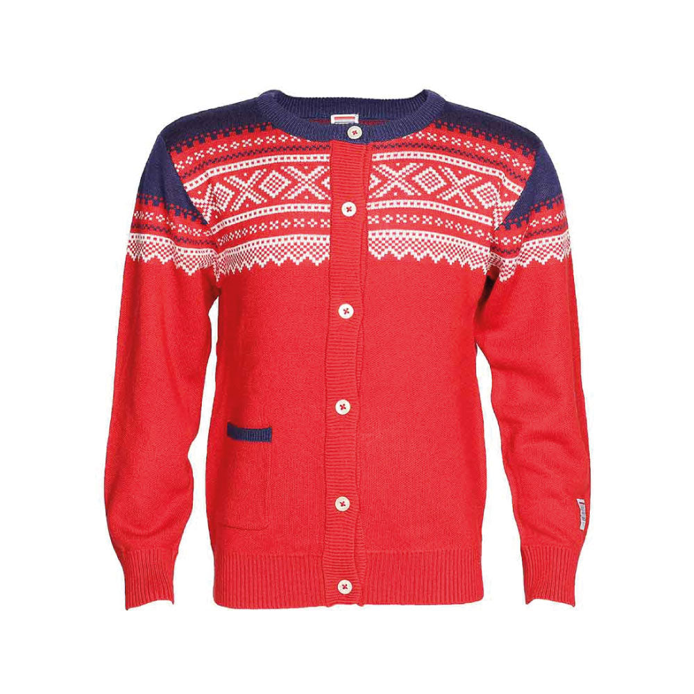 Bamboo Cardigan Red - Marius®