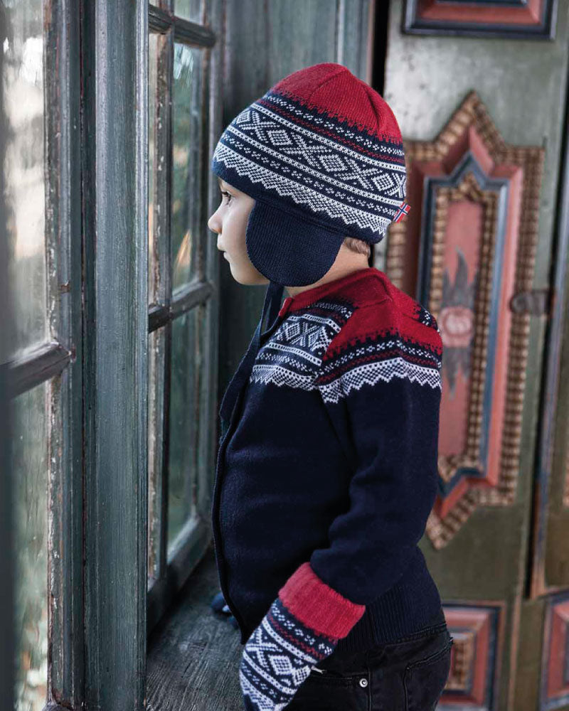 Wool Baby Hat Navy - Marius®