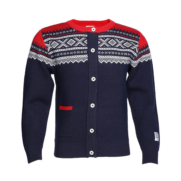 Wool Cardigan Navy - Marius®