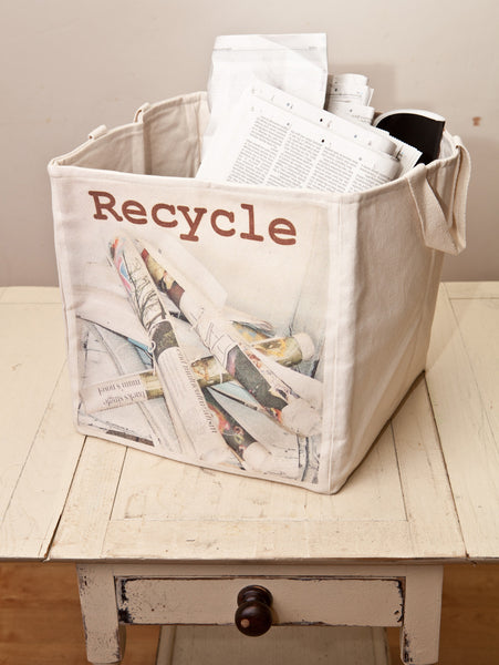 30cm Recycling storage cube