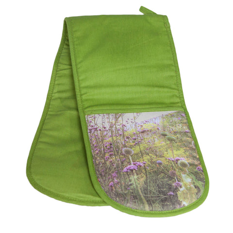 Double oven gloves meadow