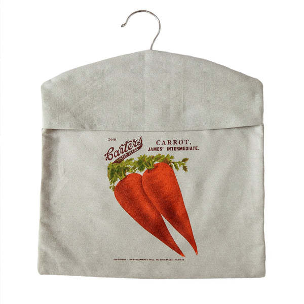 Peg bag carrot