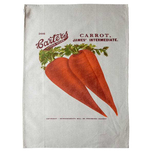 Tea towel carrot